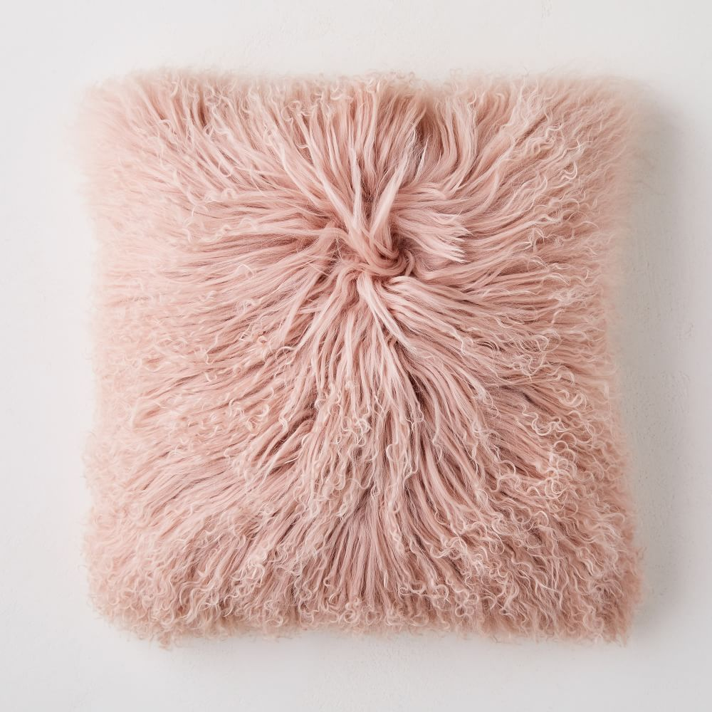 Shop Mongolian Lamb Pillow Covers from West Elm on Openhaus