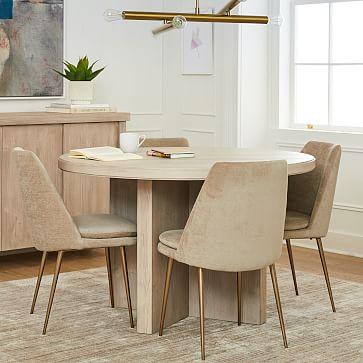 Santa Rosa Round Dining Table, Round Table In Santa Rosa